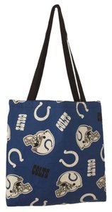 Indianapolis Colts Handmade Tote in Blue