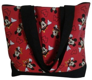 Purses Mickey Mouse Mickey Tote in Black / Red