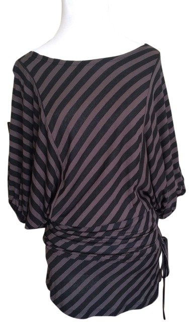 Preload https://img-static.tradesy.com/item/981931/black-and-grey-striped-night-out-top-size-2-xs-0-0-650-650.jpg