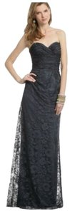 David Meister Lace Evening Gown Navy Dress