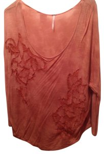 Free People Top Burnt Orange