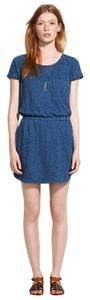 Madewell short dress Navy Indigo Pocket Shirttail Summer 85187 on Tradesy