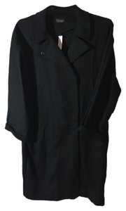 Topshop Trench Style Says Size 8 But Is Roomy And Can Fit Larger 96% 4%elastine - Stretchy Soft Pockets New Never Worn At Trench Coat