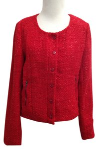 Romeo & Juliet Couture Polyester Jacket Red Blazer