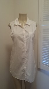H&M Button Down Shirt off white