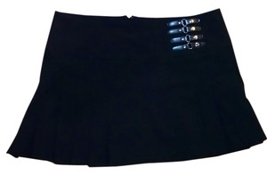 bebe Mini Size Medium Mini Skirt black