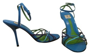 Bakers Sexy Summer Strappy Blue Sandals