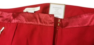 Chico's Straight Pants Red
