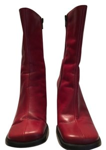Charles David Red Boots