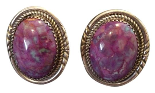 Other Charoite Clip on Earrings