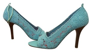 Dollhouse New Lace Pumps Summer Mint Sandals