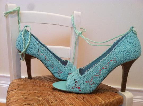 Dollhouse New Lace Pumps Summer Spring Mint Sandals