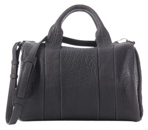 Alexander Wang Grey Rocco Bubbly Leather Shoulder Bag