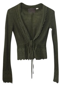 Anthropologie Guinevere Crochet Lace Knit Cardigan