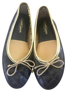 Daniel Green black/ gold Flats