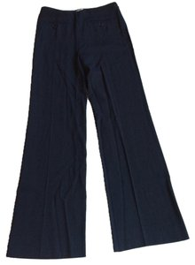 Valentino Boot Cut Pants Navy