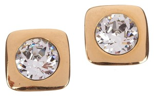Lanvin Lanvin Headlight Rhinestone Earrings