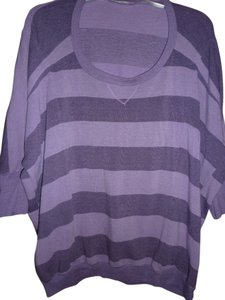 7 For All Mankind Stripes Dolman Sleeves Sweater