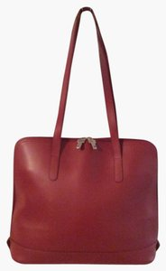 Jack Georges Tote in Red