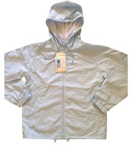 Windbreaker and pollen proof with reflective strip with hoody