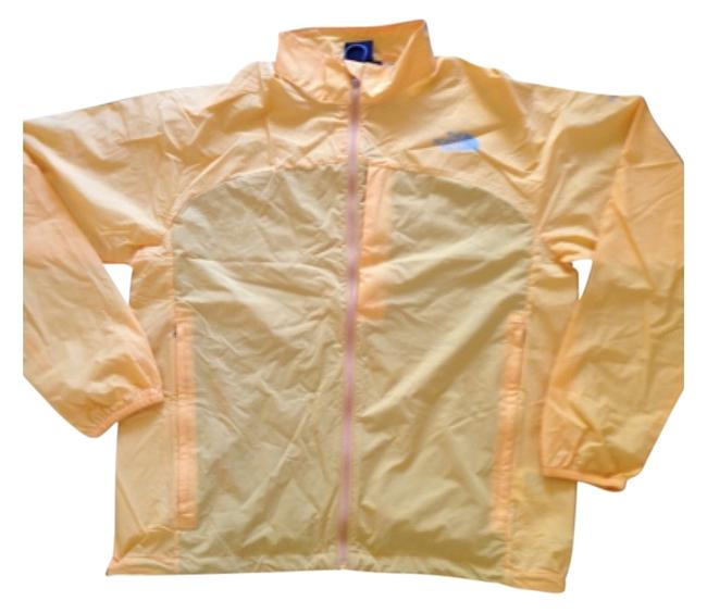 Item - Yellow Orange Wind Breaker Activewear Sportswear Size 8 (M, 29, 30)