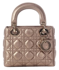 Dior Mini Rose Gold Cd.j1106.08 Satchel