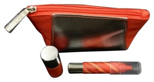 Clinique Clinique Cosmetic bag with Nail Enamel and Chubby stick moisturizing Lip Colour Balm