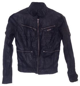 JOE'S Jeans Blac Leather Jacket