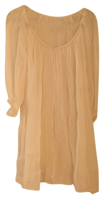 Item - White Dvf Beach Cover-up/Sarong Size 12 (L)