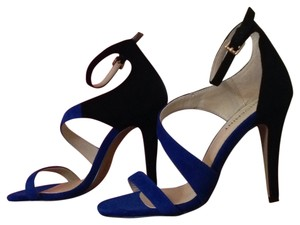 Shoemint Blue / Black Pumps