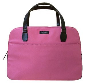 Kate Spade Satchel in Pink and black patent