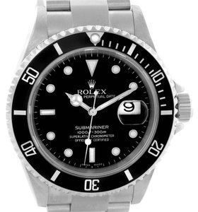 Rolex Rolex Submariner Date Mens Stainless Steel Watch 16610 Year 2004
