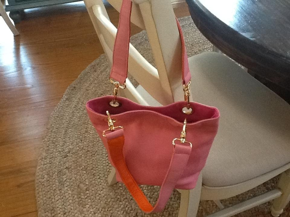 812a7dbca055 GANI Flirty And Fun Top Handle Small Satchel Sumptuous Leather Accented  Handles Soft Leather Gold Hardware. 12345678