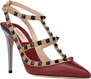 Valentino Dark red Pumps