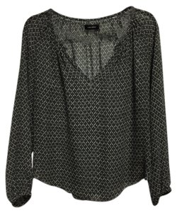 Isabel Marant Silk Top Gray