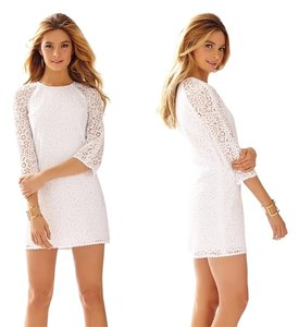 Lilly Pulitzer short dress White Rylee Lace on Tradesy