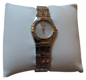 citizen eco drive Eco-Drive Citizen Ladies Diamond Two Tone Watch