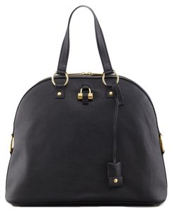 Saint Laurent Ysl Party Satchel in Black