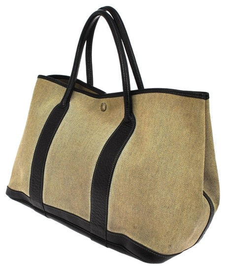 Preload https://img-static.tradesy.com/item/9829072/hermes-garden-party-beige-brown-canvas-leather-france-tote-0-8-540-540.jpg