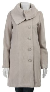 BB Dakota Jacket Scandal Olivia Pope Shawl Draped Herringbone Soft Chic Convertible Pea Coat