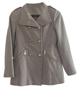 Vince Camuto Military Double Breasted Pea Coat
