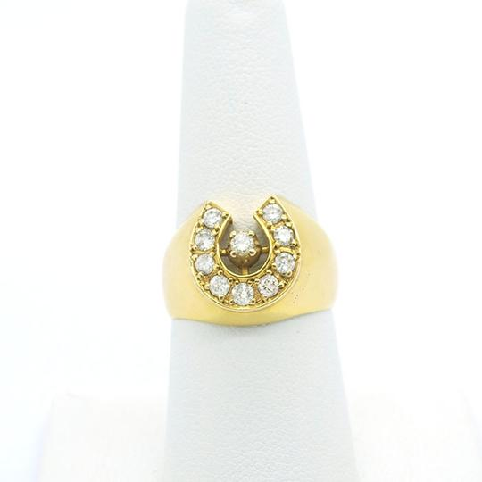 Other 0.50CT Diamonds with 18k Solid Yellow Gold Ring, 8