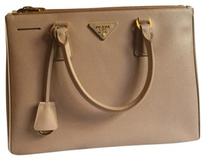 Prada Satchel in Cammeo