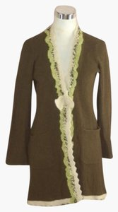 Anthropologie Field Flower Cardigan Sweater