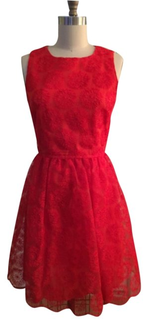 Preload https://img-static.tradesy.com/item/9830131/zara-red-knee-length-cocktail-dress-size-2-xs-0-1-650-650.jpg