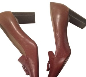 Ralph Lauren Tassles Classsic Cognac Fall Fallfashion Chestnut Pumps