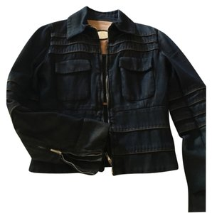 Fendi Dark Denim Womens Jean Jacket