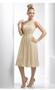 Bari Jay Beige Bari Jay 915 Dress