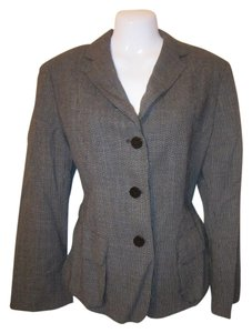 Anne Klein Black/Grey Blazer