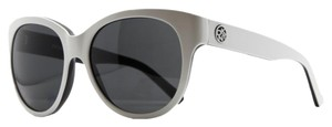 DKNY DKNY White Oversized Cateye Sunglasses